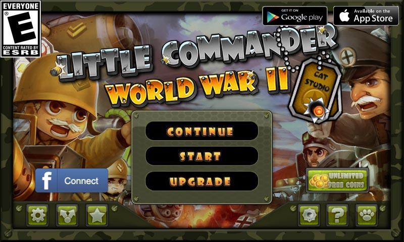 Little Commander - WWII TD- screenshot