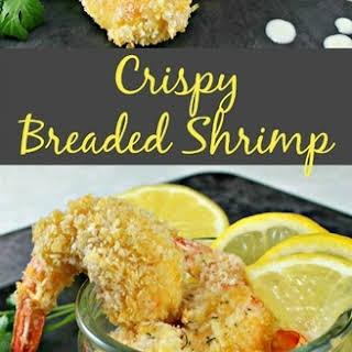 Crispy Breaded Shrimp.