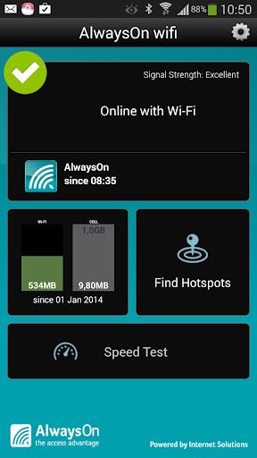 AlwaysOn wifi