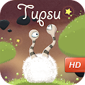 Tupsu - The Furry Little Monster. A 'Must Play' sticky-eyed physics puzzler!