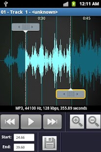Ringtone Maker and MP3 cutter - screenshot thumbnail