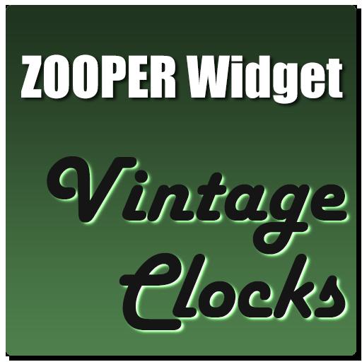 Vintage Clocks Zooper Theme