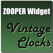 Vintage Clocks Zooper Theme