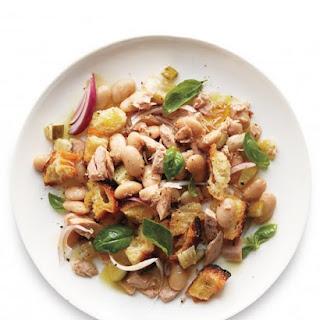 Tuna-Bean Panzanella
