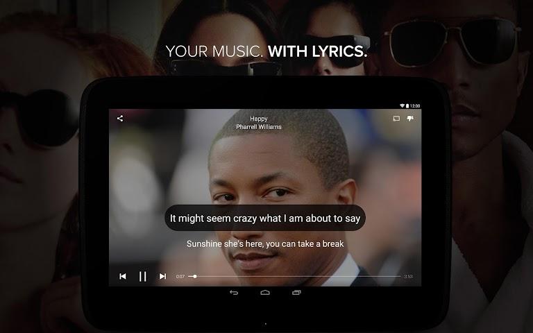 Screenshot 1 Musixmatch -  Lyrics & Music