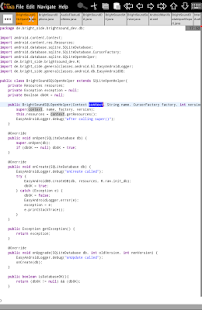 Bright M IDE: Java/Android IDE- screenshot thumbnail
