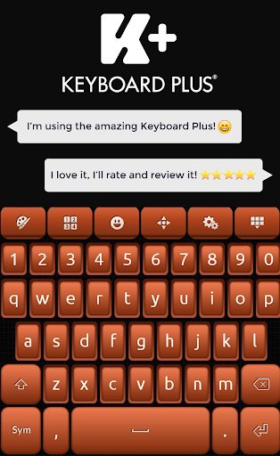 Keyboard Plus Brown