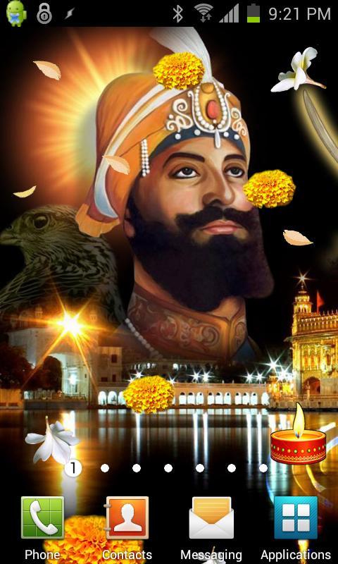Guru Gobind Singh Ji LWP - screenshot