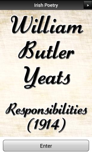 【免費書籍App】Yeats - Responsibilities PRO-APP點子