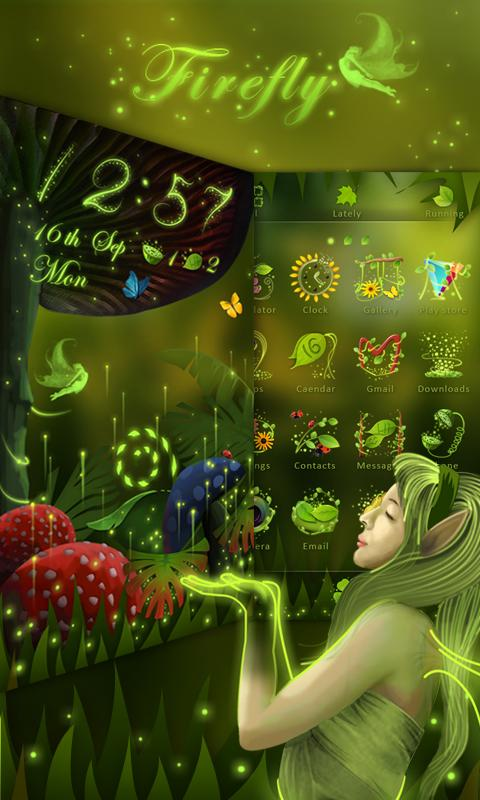 Firefly GO Launcher Theme- screenshot