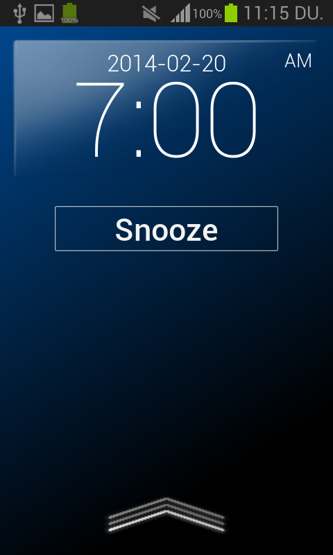 Alarm Clock Aurora- screenshot