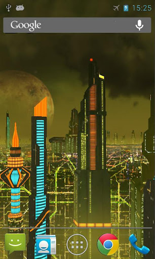 Space City 3D LWP Gold