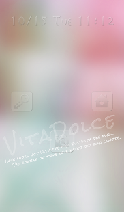 Cute wallpaper★VITA DOLCE PINK - screenshot thumbnail