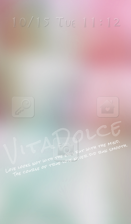 Cute wallpaper★VITA DOLCE PINK - screenshot