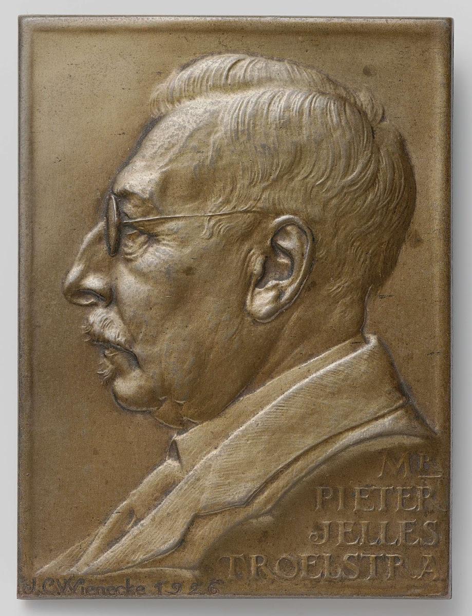 Mr Pieter Jelles Troelstra Johannes Cornelis Wienecke