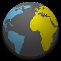 3D World Time logo
