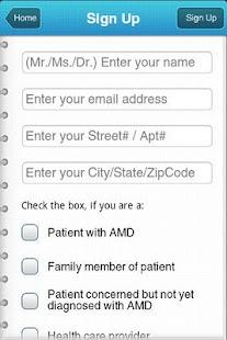 AMD Eye App- screenshot thumbnail