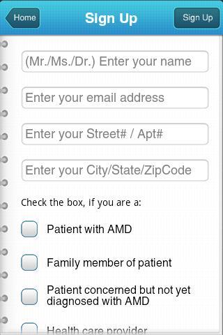AMD Eye App- screenshot