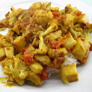 Roasted Vegetable Curry.