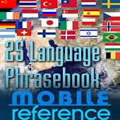 25 Language Phrasebook FREE