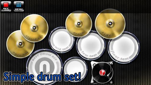 玩免費音樂APP|下載Best Drum Kit app不用錢|硬是要APP