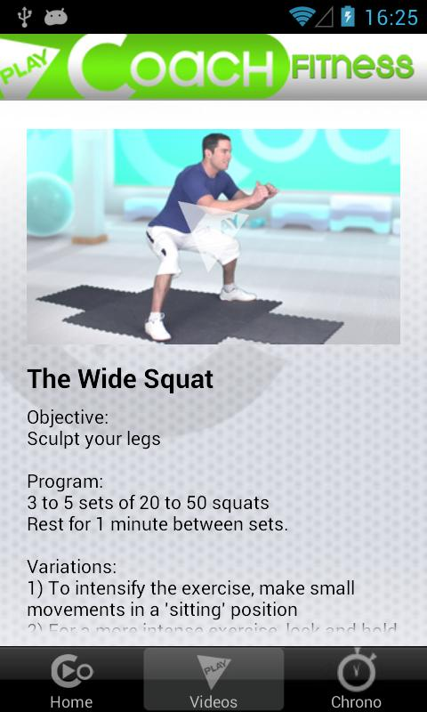 PlayCoach™ Fitness Be Fit- screenshot