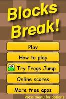 Screenshot of Blocks Break