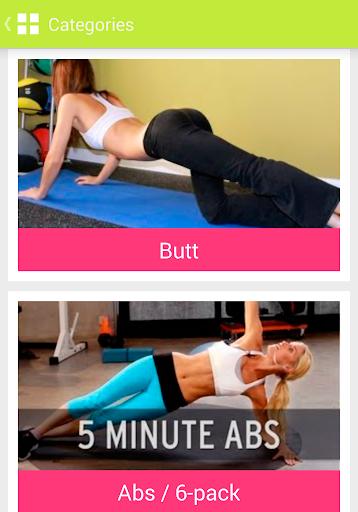 训练和练习的女性