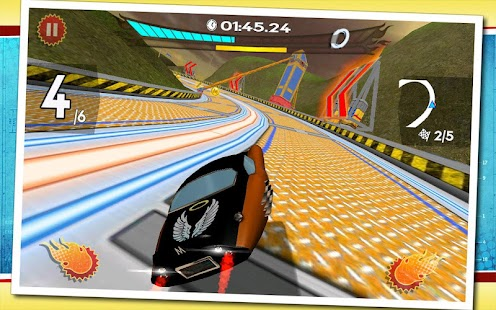 Retro Future Racing- screenshot thumbnail