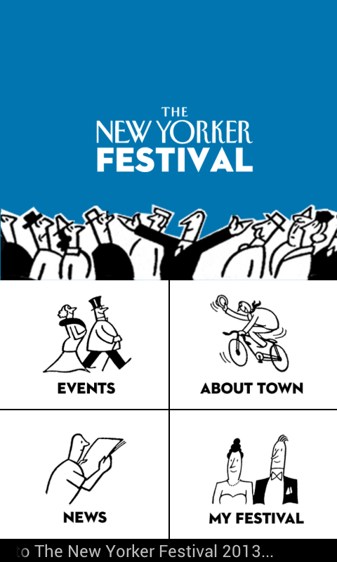 The New Yorker Festival 2013 - screenshot