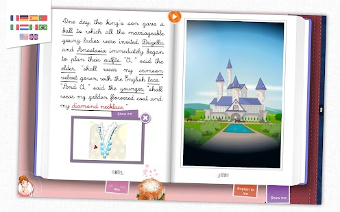 Cinderella - Kids Storybook- screenshot thumbnail