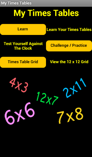 My Times Tables Free