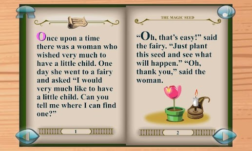 Thumbelina:3D Popup Book - screenshot thumbnail