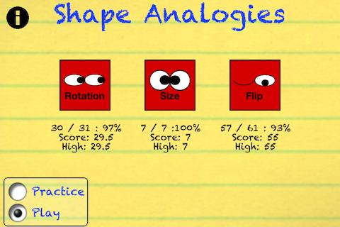 Shape Analogies- screenshot