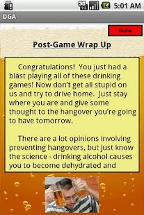 THE Drinking Game App- screenshot thumbnail