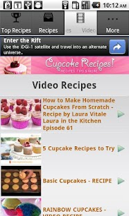 Cupcake Recipes!! - screenshot thumbnail