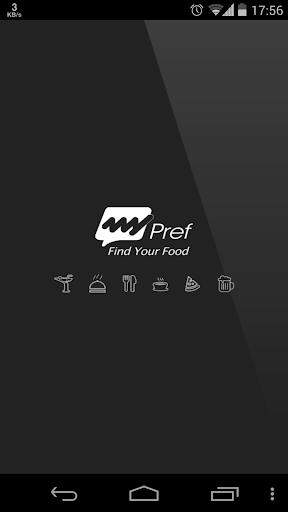 MyPref : Find Your Food