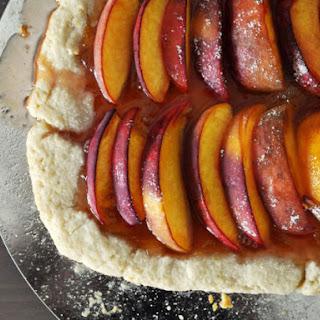 Rustic Apricot-Peach Crostata