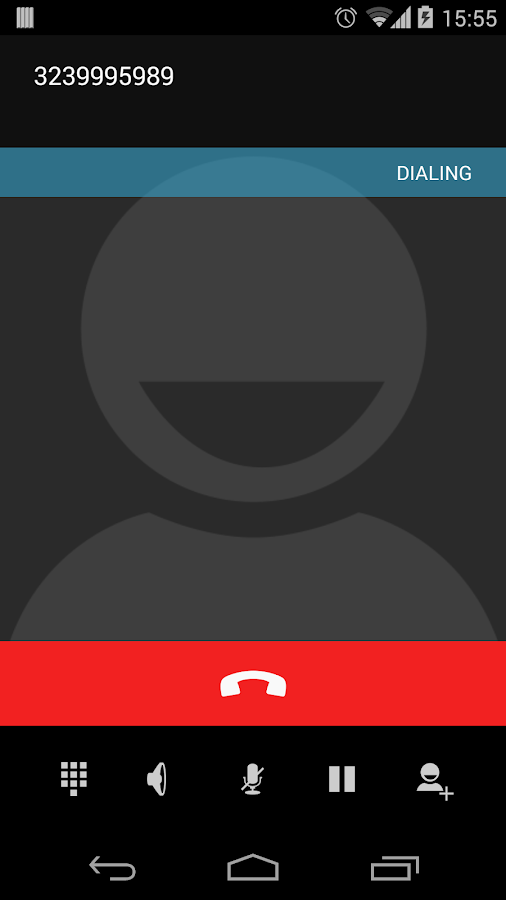 Call From Browser- screenshot