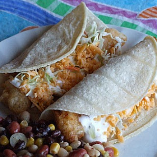San Diego Style Fish Tacos.