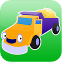 Cars and Trucks! Shape Puzzles logo