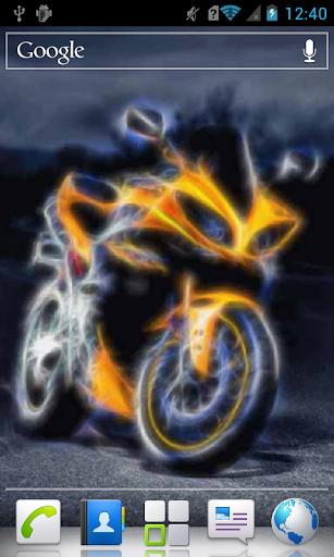 Futuristic Motorbike a live