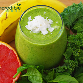 Coconut Grapefruit Green Smoothie Recipe With Kale
