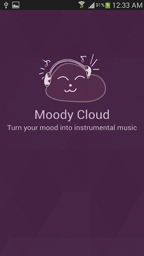Moody Cloud Moody Music Player