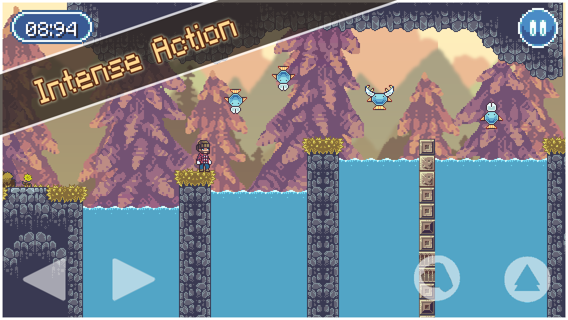 Lumber Jacked - Platform Game- screenshot