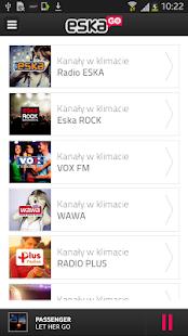 eskaGO - radio | tv | vod - screenshot thumbnail