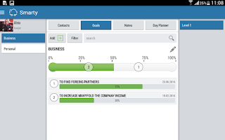 Screenshot of Smarty CRM Organizer