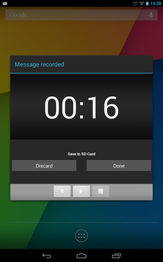 Sound Recorder Free - screenshot
