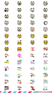 Animal emoticons Pack for DECO - screenshot thumbnail