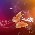 Butterfly 3D Live Wallpaper icon